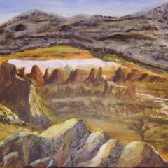 """""""Sonnenaufgang am Mesa Arch """" Acryl auf Leinwand 60 x 40 cm"""