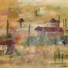 """Toskana"" Acryl auf Papier 60 x 40 cm"